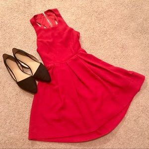 Formal red LuLus dress